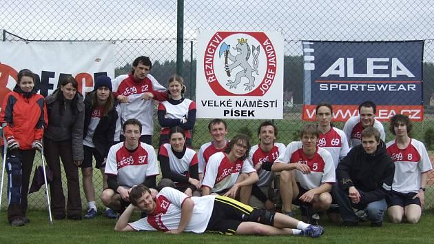 Písecký tým PeaceEgg (na snímku) vyhrál v Putimi ligový turnaj Spring Spirit.