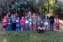 Účastníci letošního ročníku soutěže Zlatá srnčí trofej, která se konala v květnu.