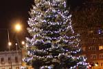 3. Vánoční strom v Milevsku.