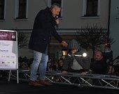 Mikulášská show v Písku.