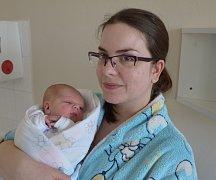 Vojtěch Davídek z Kasejovic. Petře Boháčkové a Vojtěchu Davídkovi se prvorozený syn narodil 7. 3. 2018 v 9.19 hodin, vážil 3450 g a měřil 50 cm.