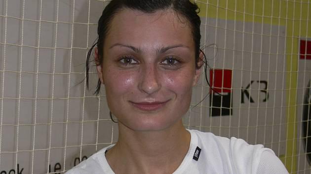 Zuzana Kupková, házenkářka Jindřichova Hradce, byla porážkou svého týmu v Písku hodně zklamaná.