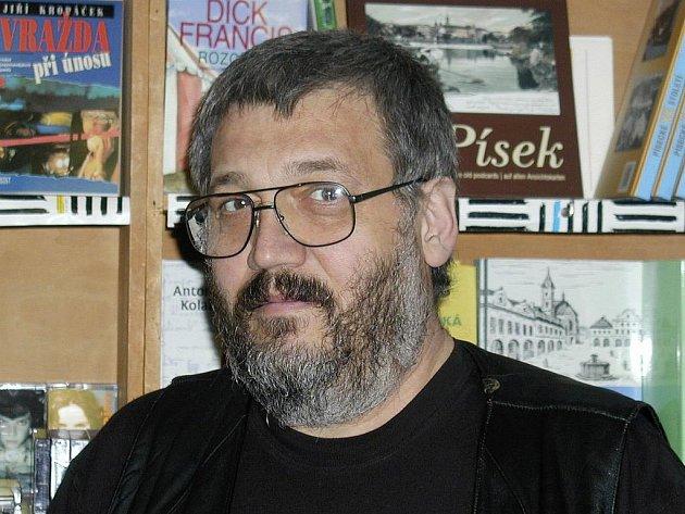 Spisovatel Ladislav Beran.