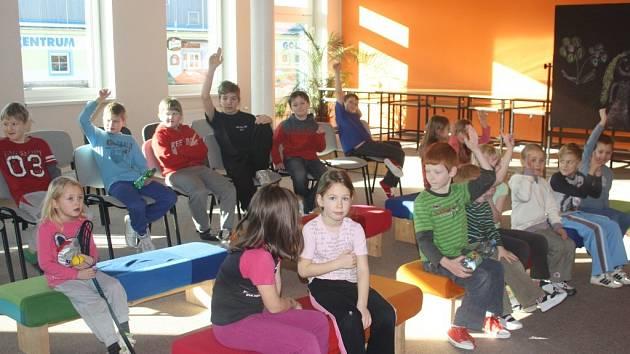 Děti si užily sportovní dopoledne.