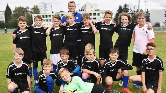 Fotbalisté FC Písek U12.