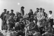 Milevští turisté v roce 1984 byli i na Malé Fatře.