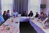 Členové Jihočeského folklorního sdružení jednali o projektech na příští rok.