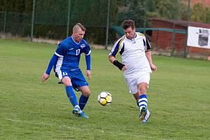 Okresní fotbalové soutěže Písecka se loučily s podzimem.