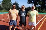 7. ročník nohejbalového turnaje trojic v Oslově.