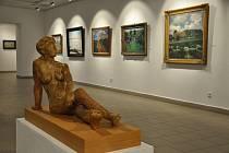 Výstava Slavnost malby v Prácheňském muzeu.