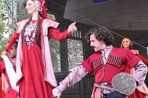 Mezinárodní folklorní festival Písek 2016.