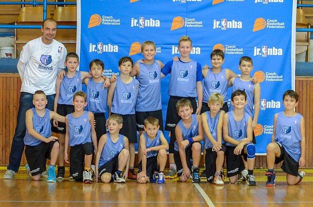 Juniorská NBA v Písku
