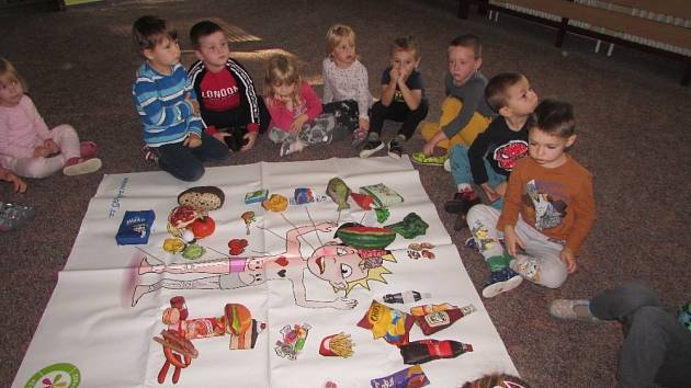Děti vědí, jaké jídlo je zdravé.