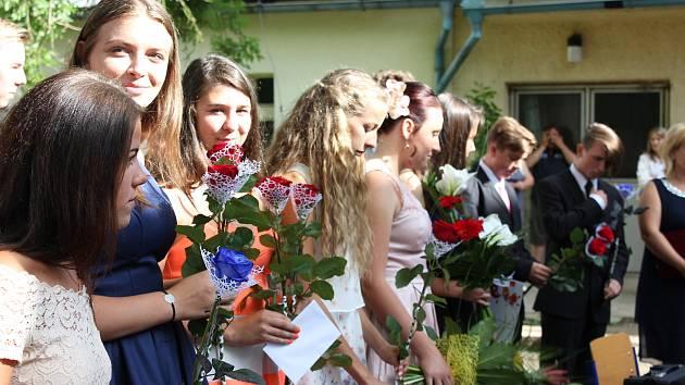 Konec školního roku v Čimelicích.