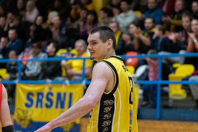 Písecký basketbalista Petr Šlechta.