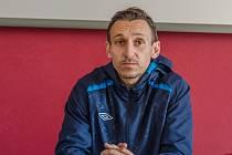 trenér třetiligových fotbalistů FC Písek Ondřej Prášil