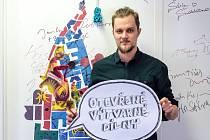 Galerijní pedagog Sladovny Tomáš Novotný