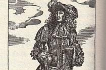 Urozený pán z Bissingen. Ilustrace je z knihy Jihočeský pitaval (1993)