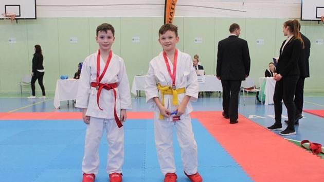 Druhé kolo dětské ligy v karate.