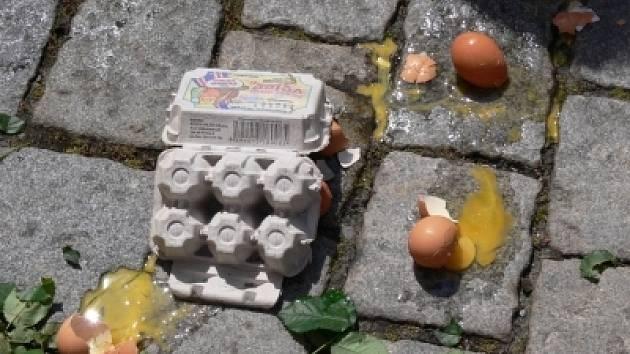 Rozbitá vejce