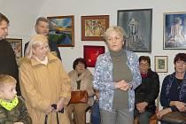 Výstava tvorby Evy Chovancové.