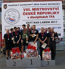 Jihočeši obhájili na mistrovství HZS ČR zlatou medaili