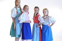 Děti z Kovářovánku  na kolokviu Jihočeského folklorního sdružení.
