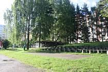 Milevský amfiteátr.