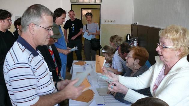 Parlamentní volby 2010, Alšovo náměstí, Písek