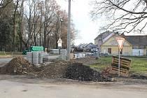 Rekonstrukce průtahu Protivínem.