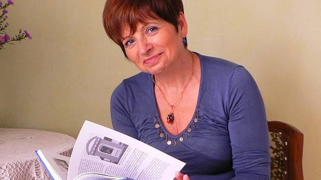 Spisovatelka Jaroslava Pixová.
