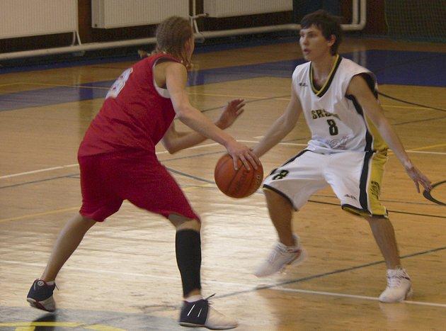 Basketbal v Písku. Ilustrační foto.