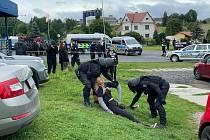Aktivisté v Mirovicích.