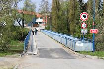 Písek, Jiráskův most. Ilustrační foto
