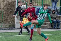 Fotbalisté FC Písek U19 přišli o výhru těsně před koncem.