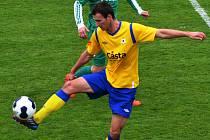 Martin Voráček z FC Písek je hráčem do ofenzivy.