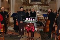 Adventní koncert v Orlíku nad Vltavou.