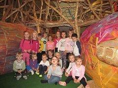 Děti ze školky si užily návštěvu Sladovny v Písku.