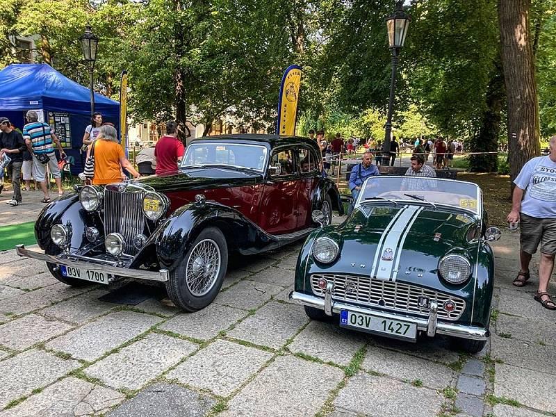 XXI. písecká jízda historických vozidel aneb k duši Prácheňského kraje.