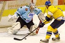 Hokejové okresní derby zvládlo lépe Milevsko.