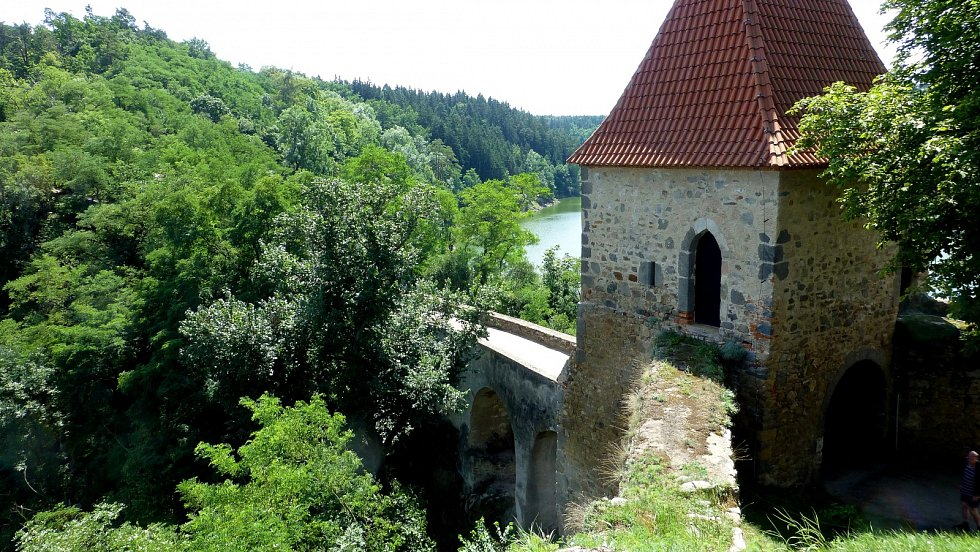 Hrad Zvíkov.