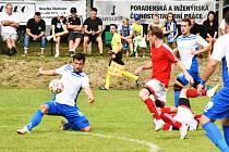 Fotbalová I.A třída: Mirovice - Strunkovice 1:0.