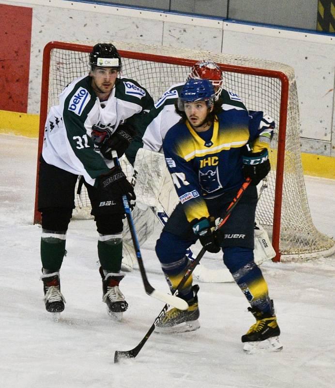 II. hokejová liga: IHC Králové Písek - HC Příbram 7:2.