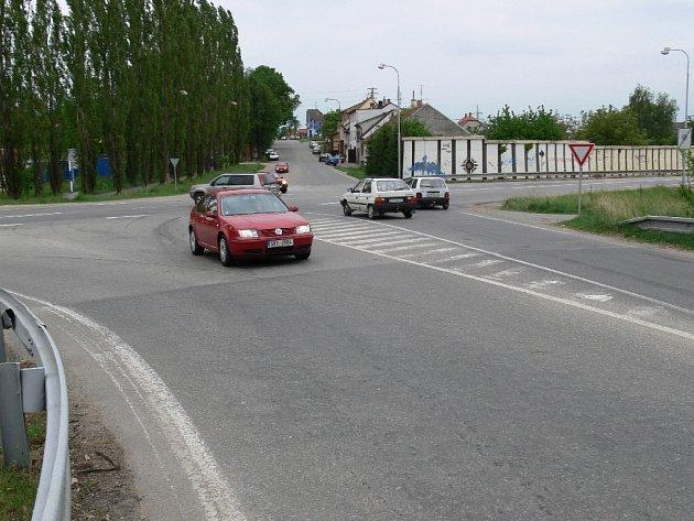 Ještě  letos změní podobu křižovatka  ulic Zborovské,  Budějovické a U Hřebčince.
