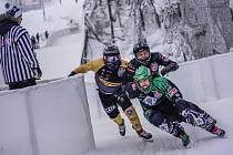 Jakub Oudes si zvolil v České republice poněkud netradiční sport. Crashed Ice si ale zamiloval.