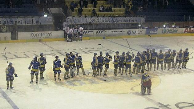 Před rokem oslavovali hokejisté Písku postup do 1. hokejové ligy. Už brzy mohou mít zcela opačné pocity.