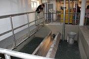 Úpravna vody v Písku zahájí zkušební provoz.
