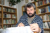 Branický knihovník Pavel Zeman.