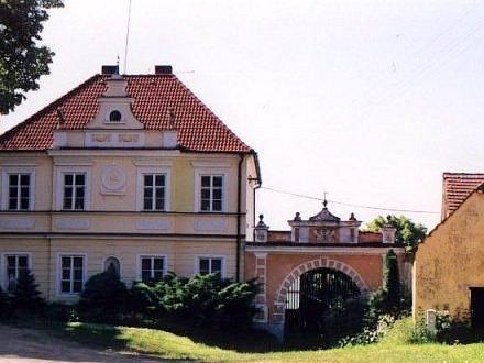 Kostelec nad Vltavou - náves