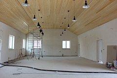 Nová budova bude sloužit pro kulturní akce.